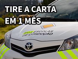 Tire a Carta de Condução em 1 Mês - Escolas de Condução Grupo MGA O grupo MGA – Manuel Gonçalves Alves - Tire a carta em um mês