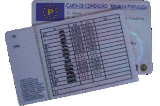 Atenção à validade da carta de condução