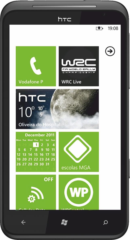 acesso reservado a utilizadores móveis WP7 registados